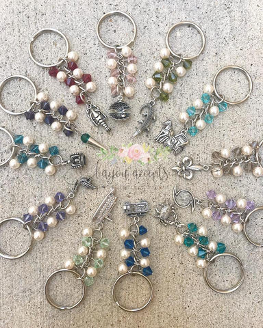 Wedding Cake Pull Keychains