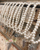 Wedding Cake Pull Stretchy Pearl Bracelets
