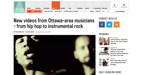 Ottawa Citizen: The Big Beat (New Video Releases)
