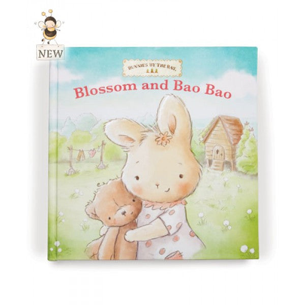 Bunnies By The Bay Blossom and Bao Bao Board Book - Little Jill & Co.