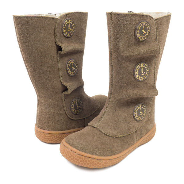 Livie & Luca Tiempo Taupe Classic Boot - Little Jill & Co.