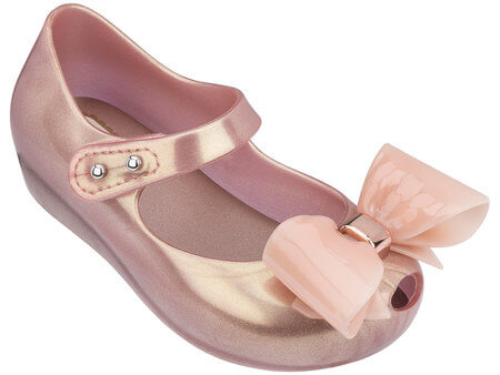 Mini Melissa Ultra Girl VIII Metallic Pink