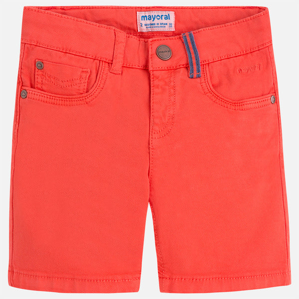 Mayoral Structued Shorts in Orange 3244