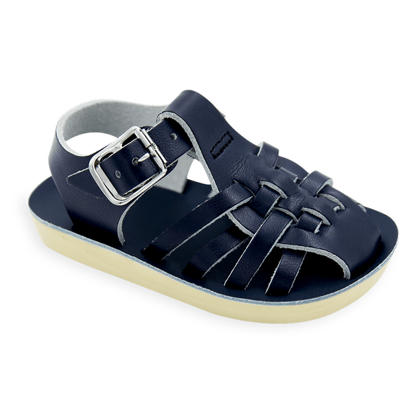Sun San Saltwater Sandal Sailor Navy 4207 - Little Jill & Co.