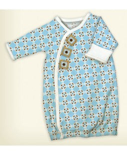 Stephan Baby Preemie Geo Gown 757001 - Little Jill & Co.