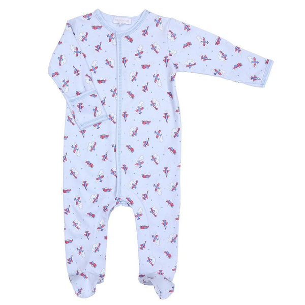 Magnolia Baby Flying Around Printed Footie LB