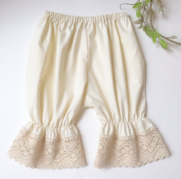 Joy Marie Clothing Bloomers in Natural - Little Jill & Co.