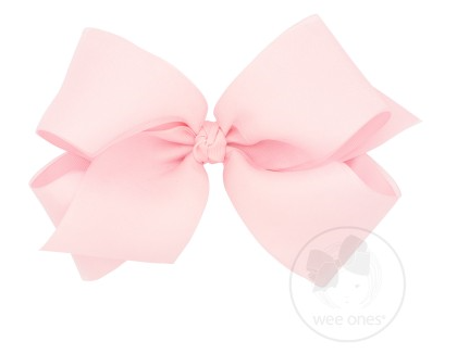 Wee Ones Huge Organza Overlay Bow (Multiple Colors)