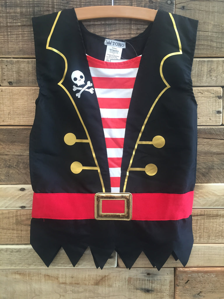 Pink Poppy Pirate Tunic - Little Jill & Co.