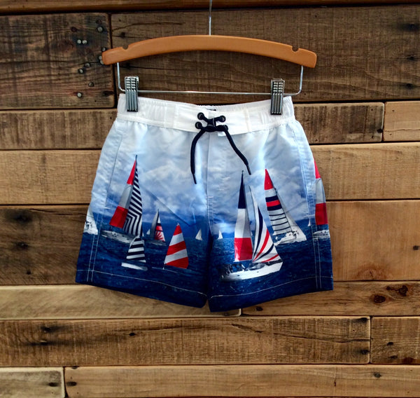 Mayoral Swim Shorts W/ Print Hibiscus 3621