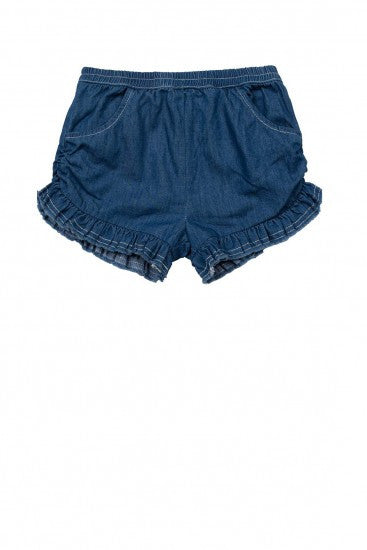 Paper Wings Chambray Shorts - Little Jill & Co.