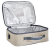 So Young Raw Linen Robot Lunch Box