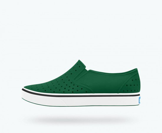 Native Miles Evergreen/Shell White