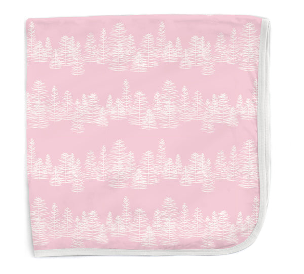 Magnificent Baby Pink Aspen Modal Swaddle Blanket