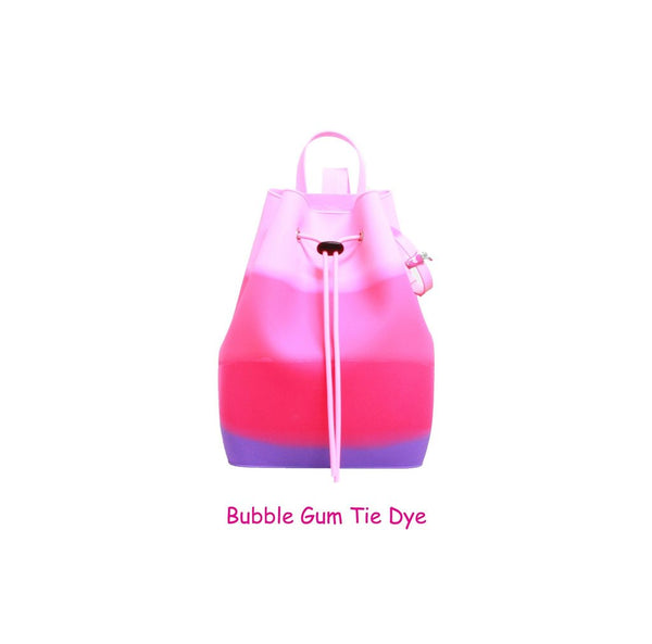 Yummy Gummy SCENTED Rope Bucket Bag in Bubble Gum Tie Dye (Bubblegum Scent)