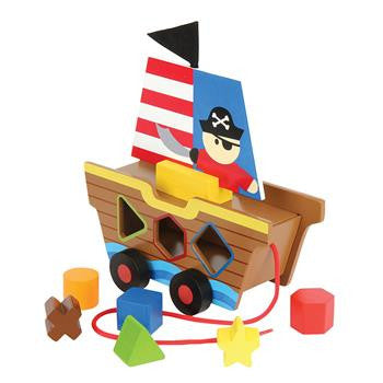 Stephen Joseph Shaped Sorters Pirate