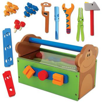 Stephen Joseph Wooden Play Tool Set - Little Jill & Co.