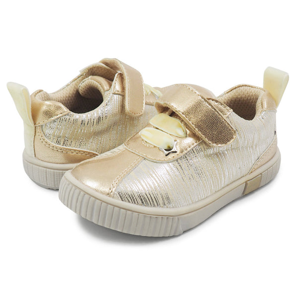 Livie & Luca Spin Sneaker Cream Tinsel
