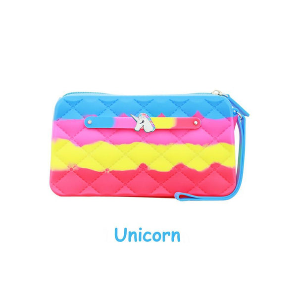 Yummy Gummy SCENTED Wristlet Gummy Bags in Unicorn (Pineapple Scent)