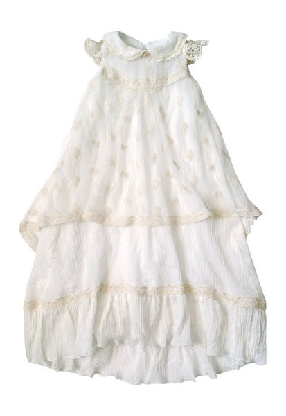 Romantique Bebe Victoria Gown with Bonnet