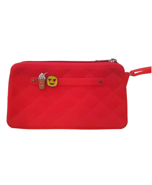 Yummy Gummy SCENTED Wristlet Gummy Bags in Red (Bubblegum Scent)