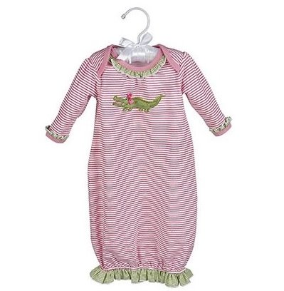 Maison Chic Gabby the Gator Sack Gown
