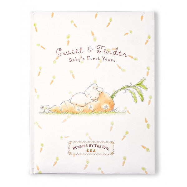 Bunnies By The Bay Sweet  & Tender Record Book - Little Jill & Co.