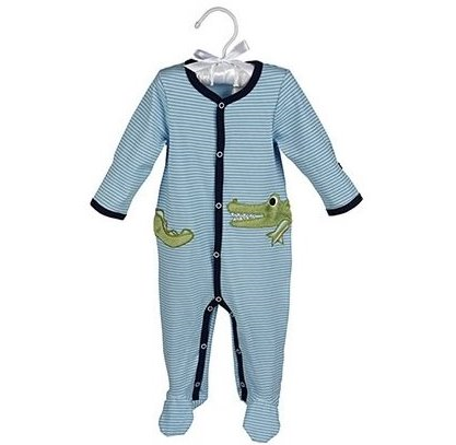 Maison Chic Gary the Gator Footie