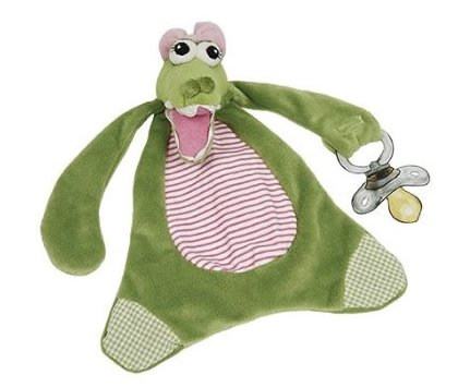 Maison Chic Gabby the Gator Paci-Blanket