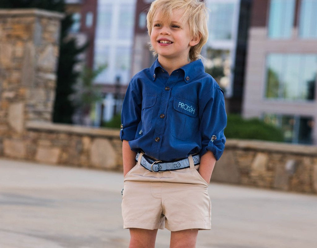 Prodoh Fishing Shorts Khaki - Little Jill & Co.