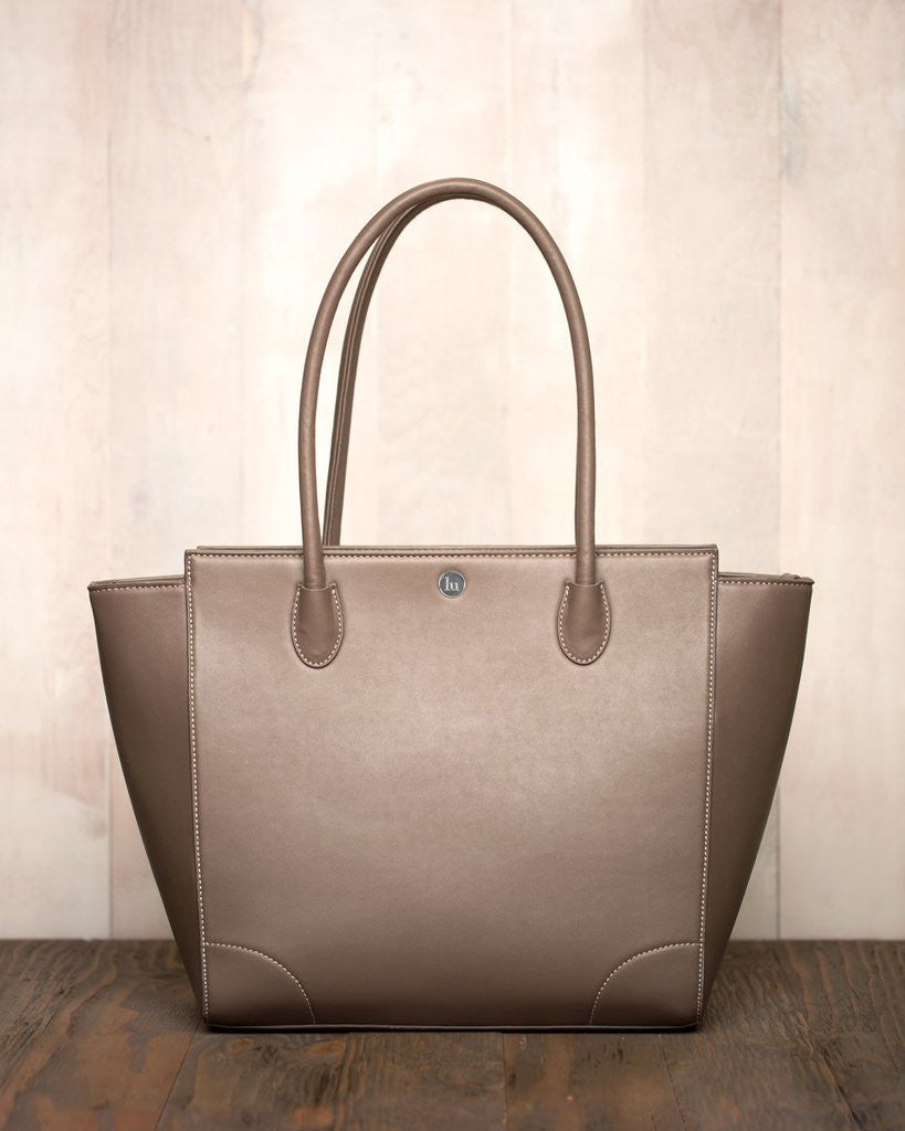 Little Unicorn Brookside Tote - Taupe - Little Jill & Co.
