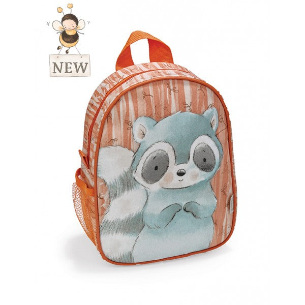 Bunnies By The Bay Roxy Raccoon Backpack - Little Jill & Co.