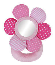 Stephan Baby PP Rattle Swirly Flower