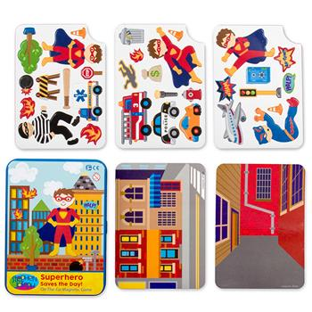 Stephen Joseph Travel Tin  Super Hero