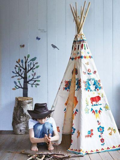 Magic Forest Indian Teepee By Nathalie Lete