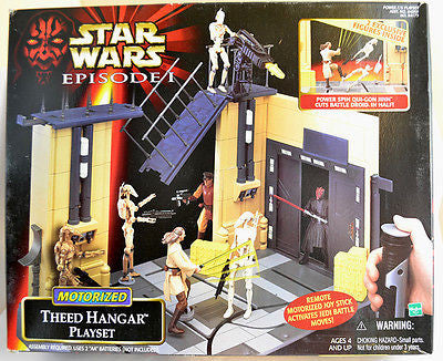 Episode 1 Theed Hangar Playset
