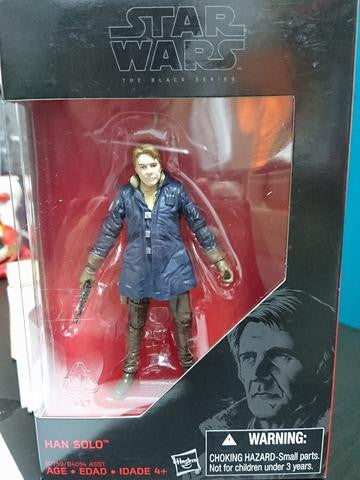 "Force Awakens Old Han Solo 3.75"" Black Series"