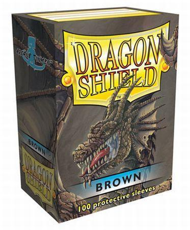 Dragon Shield - 100ct Standard Size - Brown