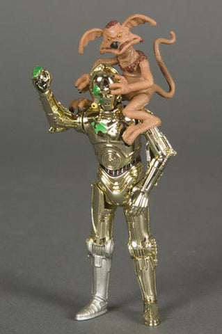 "C-3PO and Salacious Crumb 30th Anniversary 3.75"" Loose"