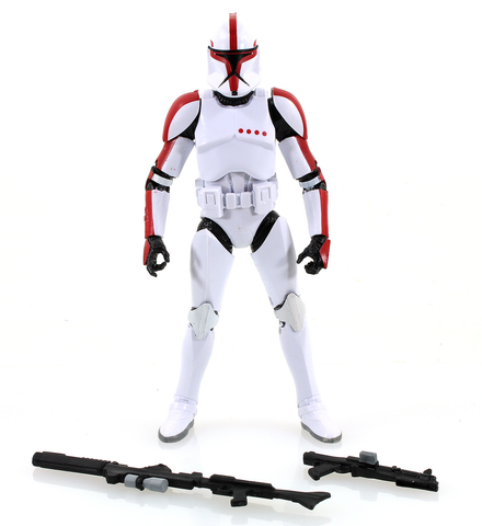 "#13 Clone Trooper Captain Star Wars Black Series 6"" Loose"