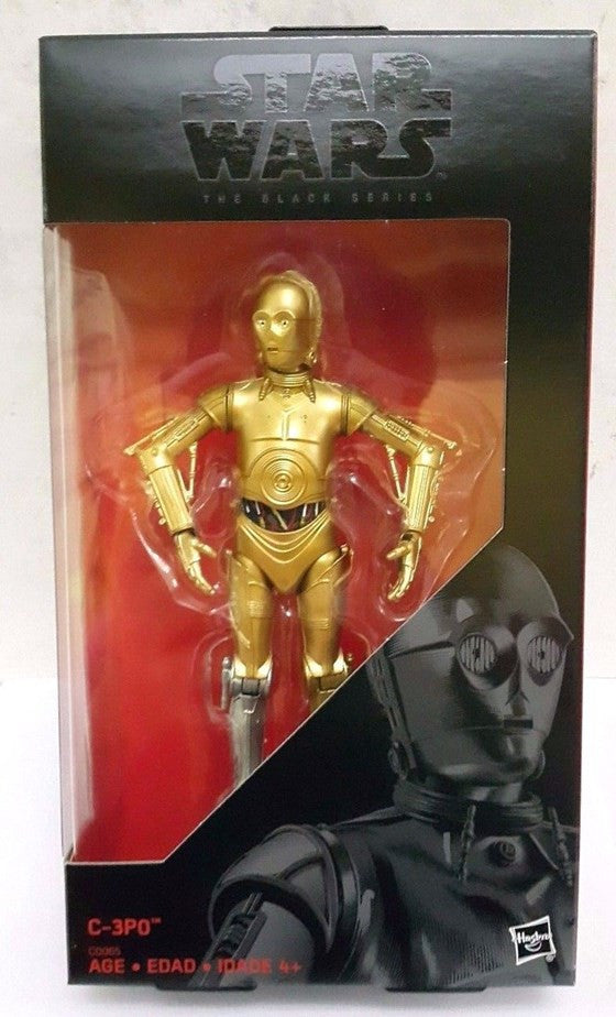 C-3PO Star Wars (Gold Arm) Star Wars Black Series 6""