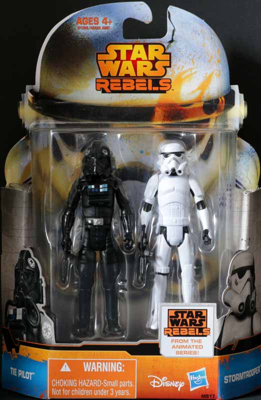 "MS17 Star Wars Rebels Saga Legends 3.75"" Mission Series Tie Pilot Stormtrooper"