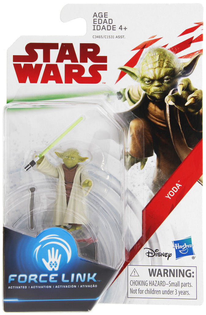 Yoda Star Wars Force Link 3.75""