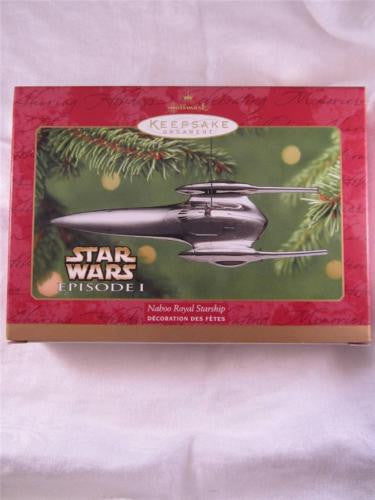 Royal Naboo Starship Keepsake Christmas Ornament