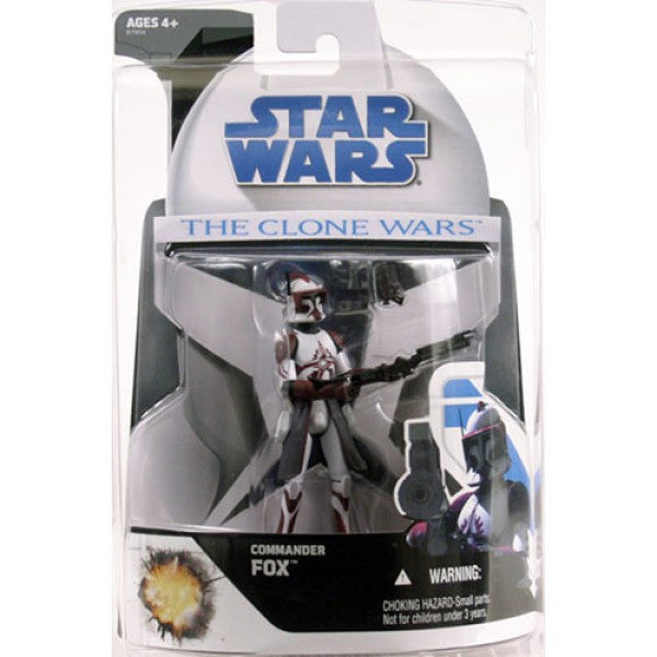 Commander Fox The Clone Wars 3.75""