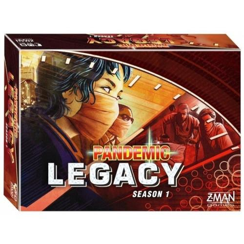 Pandemic Legacy - Season 1 - Red