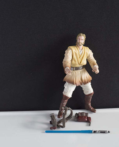 "Obi-Wan Kenobi The Clone Wars 3.75"" Loose"