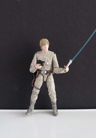 #11 Luke Skywalker (Bespin Fatigues) Black Series Loose 6""