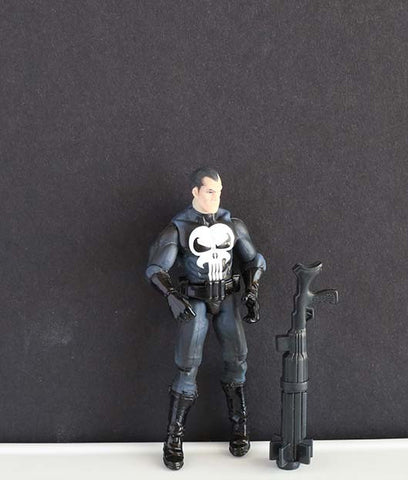"The Punisher Marvel Universe 3.75"" (incomplete)"