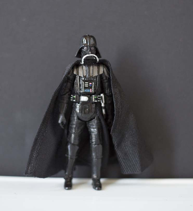 "Darth Vader Loose 3.75"" (incomplete)"